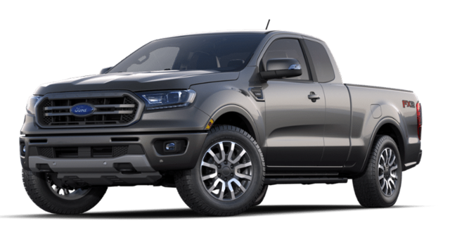 2020 Ford Ranger Lariat 2WD Supercab 6 Box truck